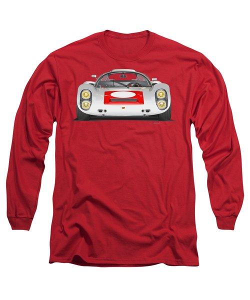 Porsche 910 No Background Long Sleeve T-Shirt