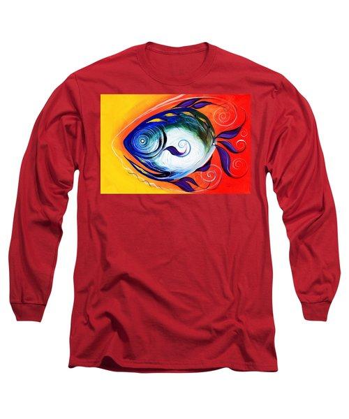 Positive Fish Long Sleeve T-Shirt