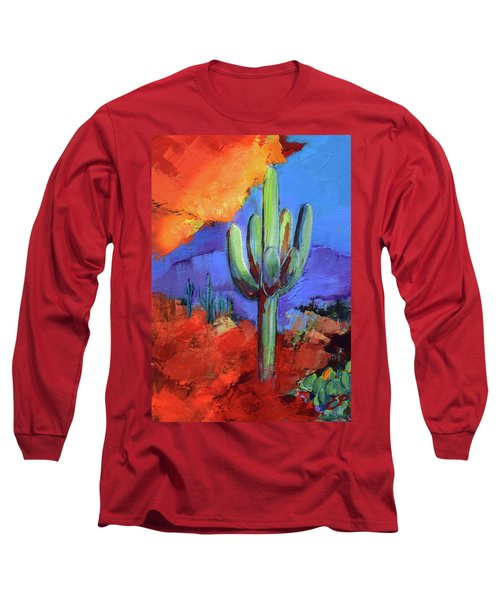 Under The Sonoran Sky By Elise Palmigiani Long Sleeve T-Shirt