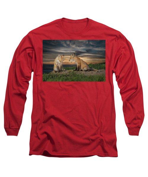 Red Fox Kits - Past Curfew Long Sleeve T-Shirt