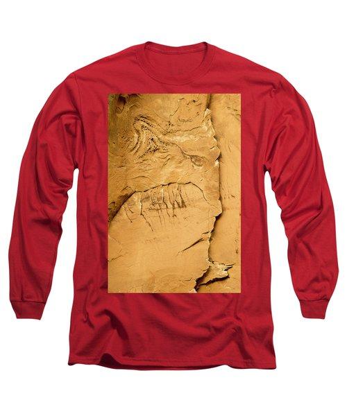 Rock Face Long Sleeve T-Shirt