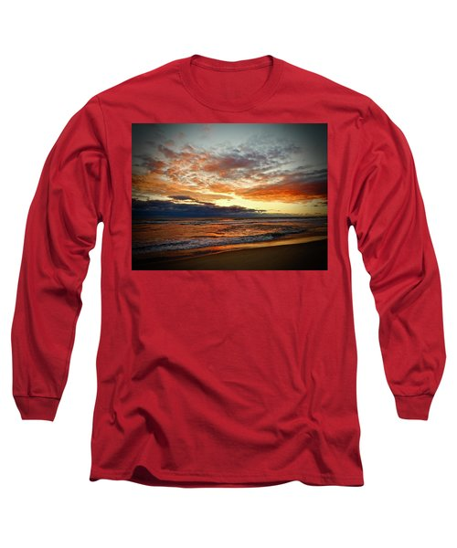 Early Autumn Morning Long Sleeve T-Shirt
