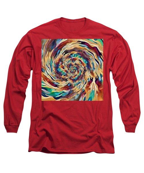 Sea Salad Swirl Long Sleeve T-Shirt