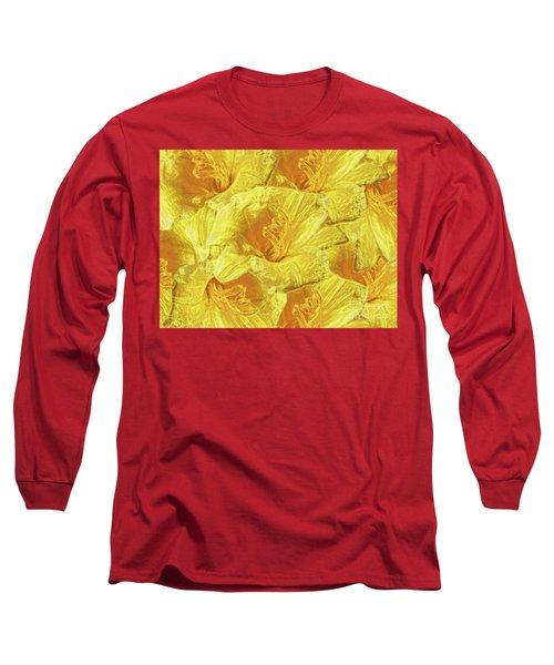 Selective Yellow Lilies Long Sleeve T-Shirt
