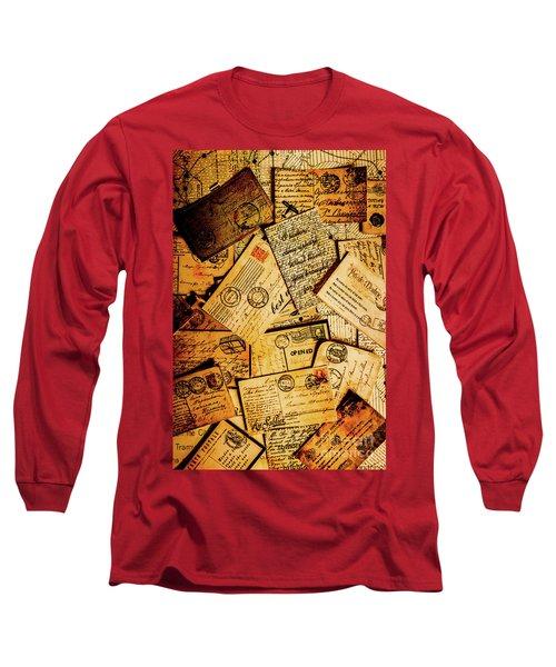 Sentimental Writings Long Sleeve T-Shirt