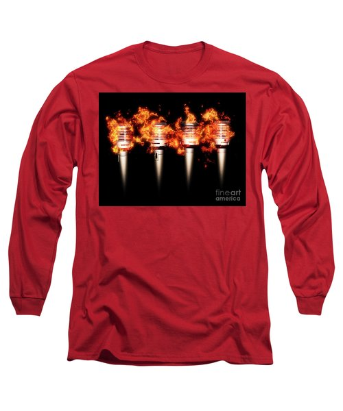 Singeing Stage Show Long Sleeve T-Shirt