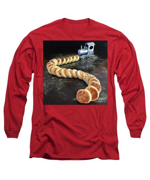 Sourdough English Muffins Long Sleeve T-Shirt
