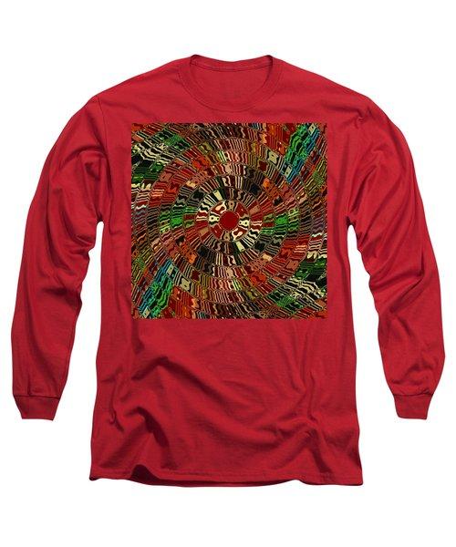 Southwestern Sun Swirl Long Sleeve T-Shirt