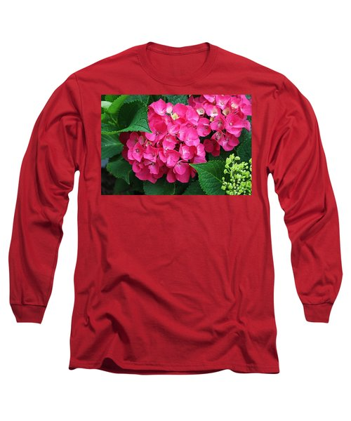 Spring Hydrangea Long Sleeve T-Shirt