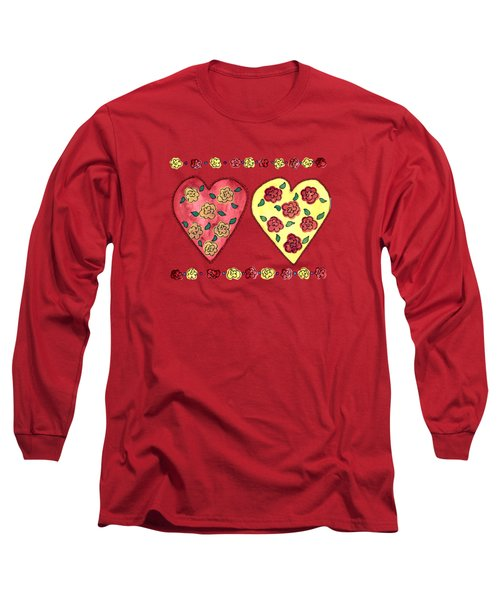 Love And Roses Long Sleeve T-Shirt