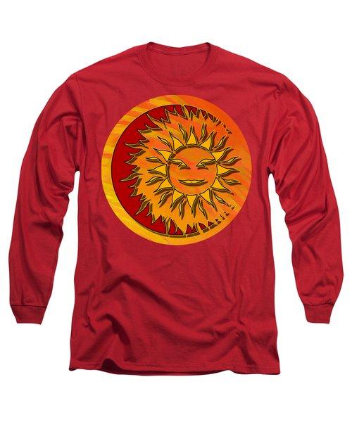 Sun Eclipsing The Moon Long Sleeve T-Shirt