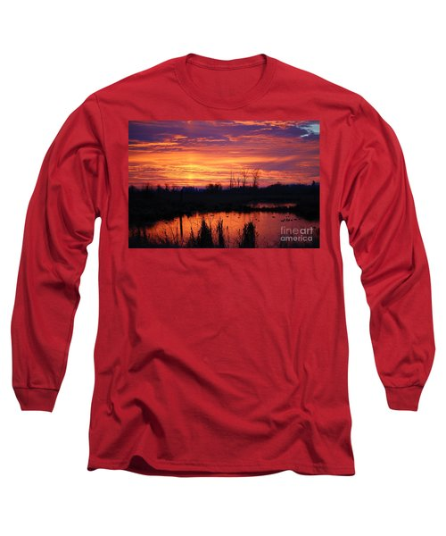 Sunrise Reflections Long Sleeve T-Shirt