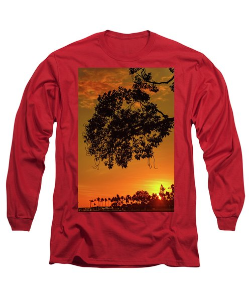 Sunset By The Pier Long Sleeve T-Shirt