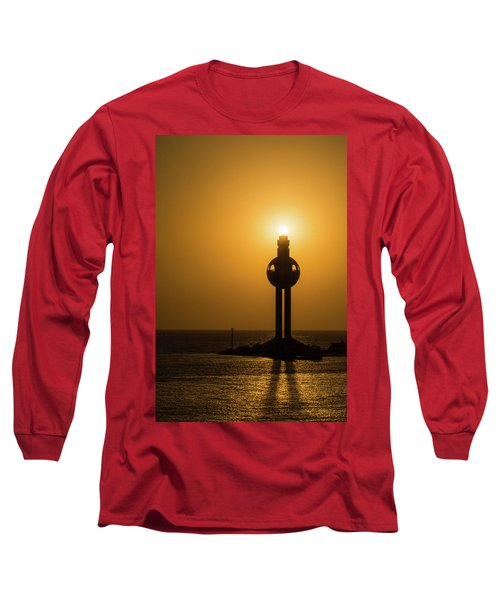 Sunset In Port Jeddah, Saudi Arabia Long Sleeve T-Shirt