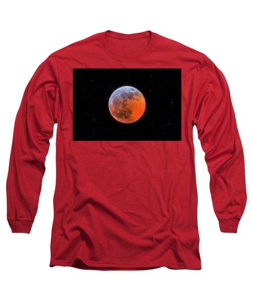 Super Blood Moon Eclipse 2019 Long Sleeve T-Shirt