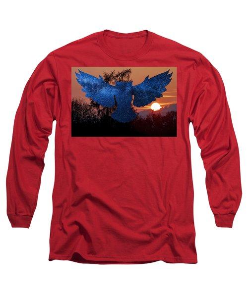 Sunset Owl Long Sleeve T-Shirt