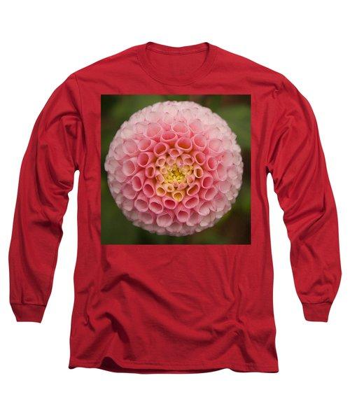 Symmetrical Dahlia Long Sleeve T-Shirt