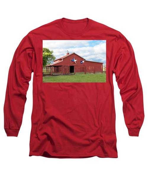 Texas Red Barn Long Sleeve T-Shirt