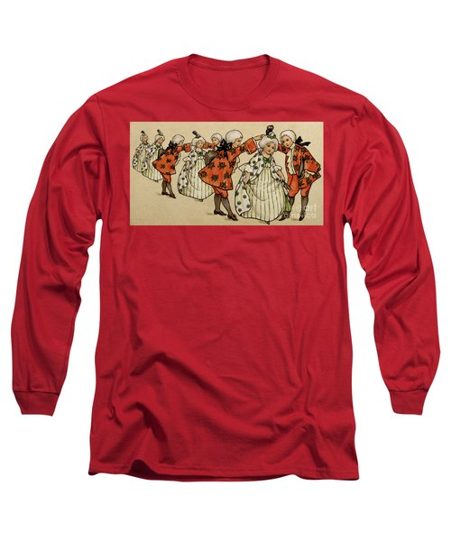 The Ball, Victorian Card Long Sleeve T-Shirt