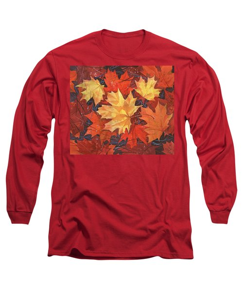 The Poem Of Autumn Leaves Long Sleeve T-Shirt