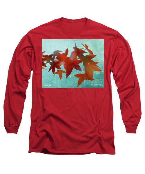 The Red Leaves Long Sleeve T-Shirt