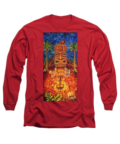 Tiki Cocktail Hour Long Sleeve T-Shirt