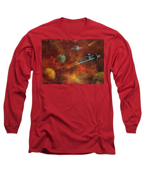Unidentified Flying Object Long Sleeve T-Shirt