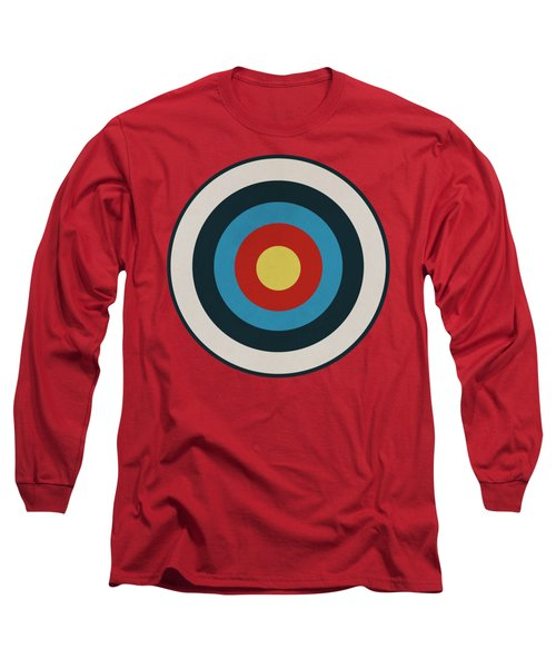Vintage Target - Orange Long Sleeve T-Shirt