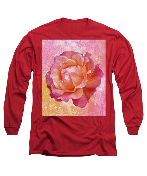 Warm And Crunchy Rose Long Sleeve T-Shirt
