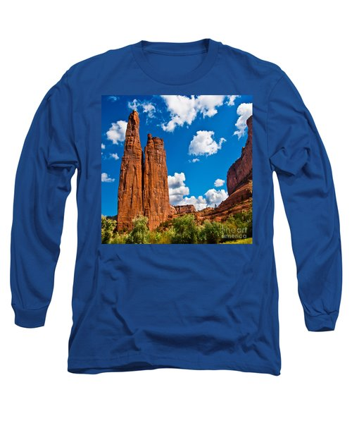 Canyon De Chelly Spider Rock Long Sleeve T-Shirt