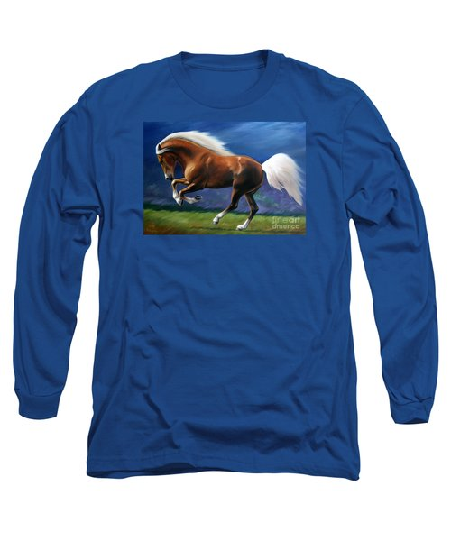 Magnificent Power And Motion Long Sleeve T-Shirt by Vivien Rhyan