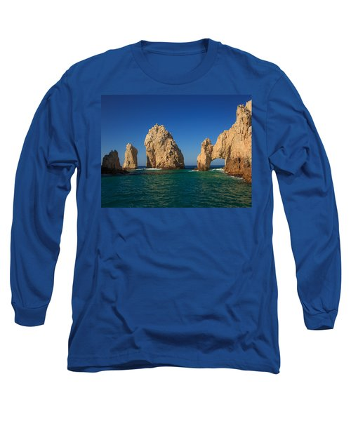 The Sea Arch El Arco De Cabo San Lucas Long Sleeve T-Shirt