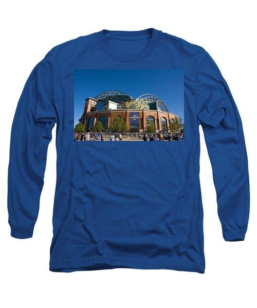 0386 Miller Park Milwaukee Long Sleeve T-Shirt