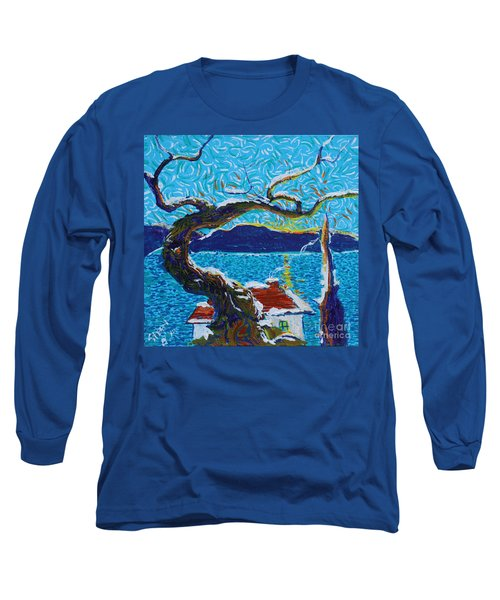 A River's Snow Long Sleeve T-Shirt