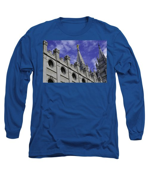 Angel On The Temple Long Sleeve T-Shirt