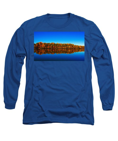 Autumn Reflections Long Sleeve T-Shirt by Andy Lawless
