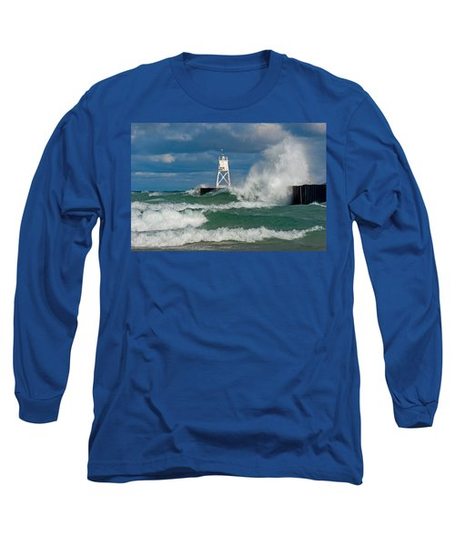 Break Wall Waves Long Sleeve T-Shirt