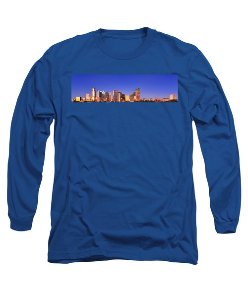 Dallas At Dawn Long Sleeve T-Shirt