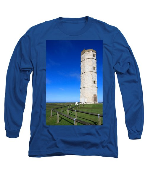 Flamborough Old Lighthouse Long Sleeve T-Shirt