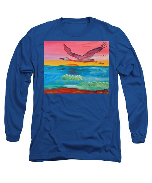 Flying Free Long Sleeve T-Shirt