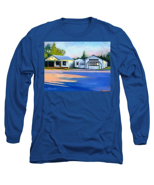Huckstep's Garage Free Union Virginia Long Sleeve T-Shirt by Catherine Twomey