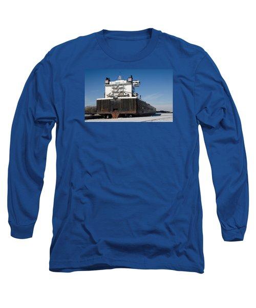 Indiana Harbor 4 Long Sleeve T-Shirt by Susan  McMenamin