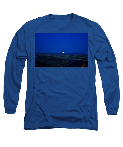 Native Moon Long Sleeve T-Shirt