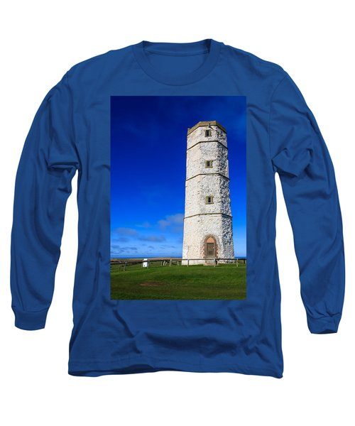 Old Lighthouse Flamborough Long Sleeve T-Shirt