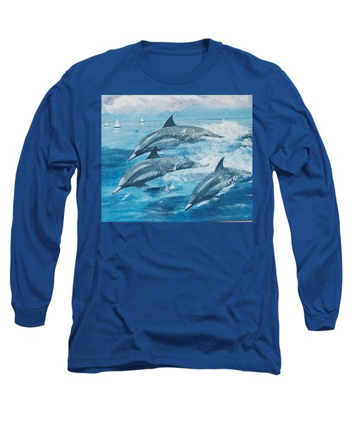 On The Move Long Sleeve T-Shirt by Catherine Swerediuk