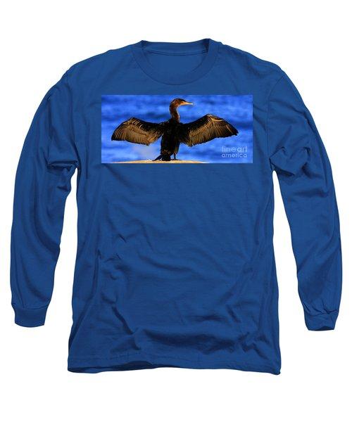 California Blue Long Sleeve T-Shirt