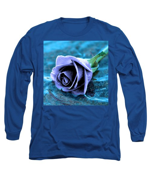 Rose In Water  Long Sleeve T-Shirt