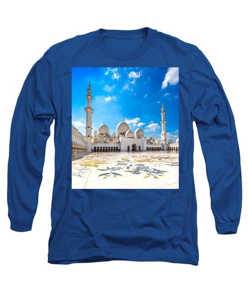 Sheikh Zayed Mosque - Abu Dhabi - Uae Long Sleeve T-Shirt