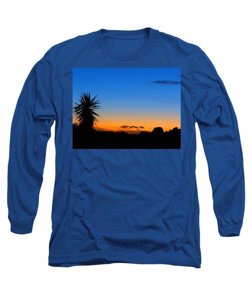 Sunset In The Desert Long Sleeve T-Shirt