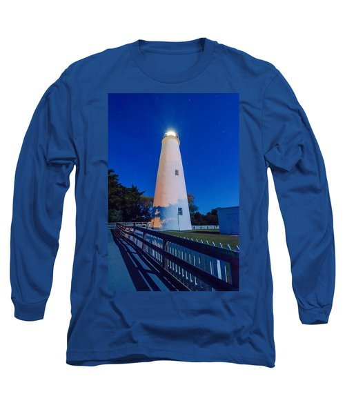 The Ocracoke Lighthouse On Ocracoke Island On The North Carolina Long Sleeve T-Shirt